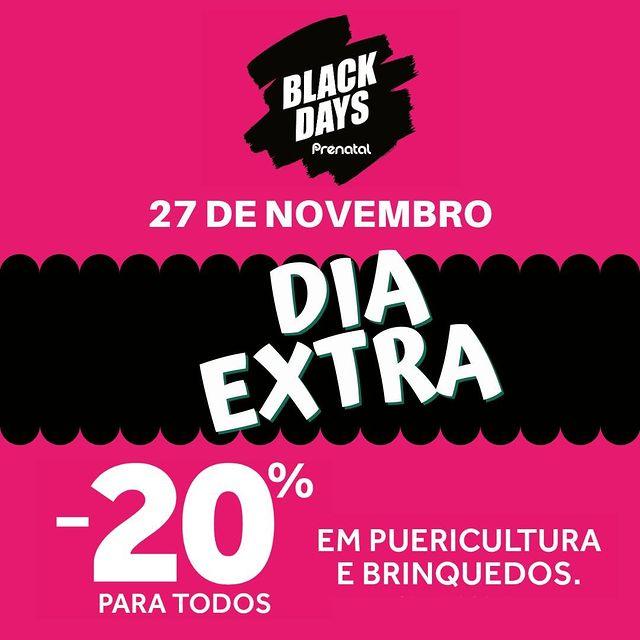 Não conseguiste aproveitar os Black Days #Préna…