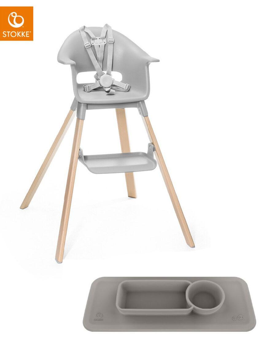 Bundle clikk + tabuleiro gratuito grey - Stokke
