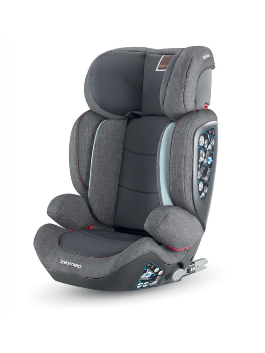 Cadeira auto inglesina tolomeo 2.3 ifix, cinza - Inglesina