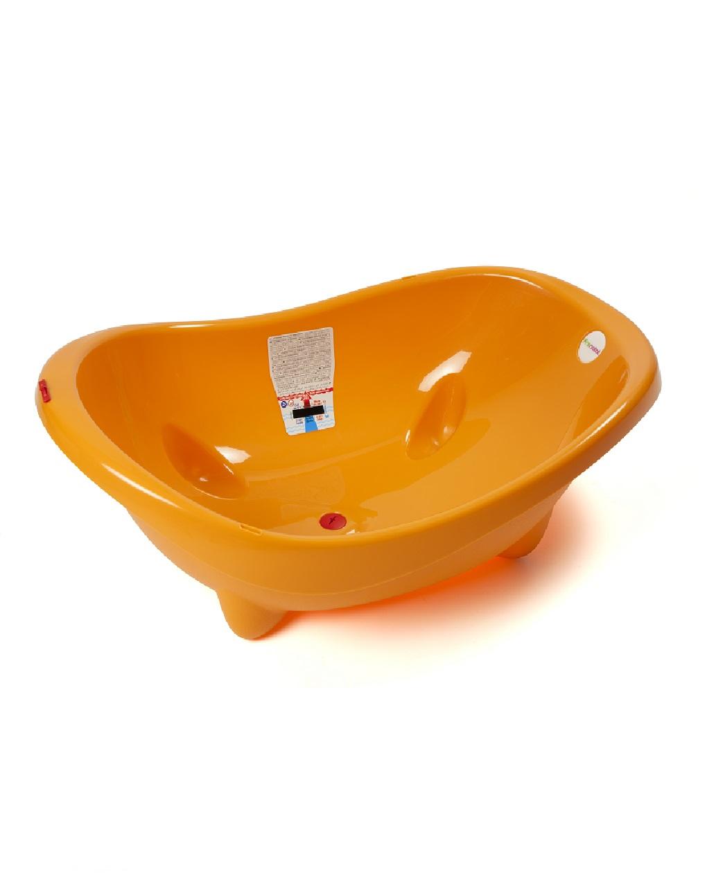 Banheira soap bubble laranja - Giordani