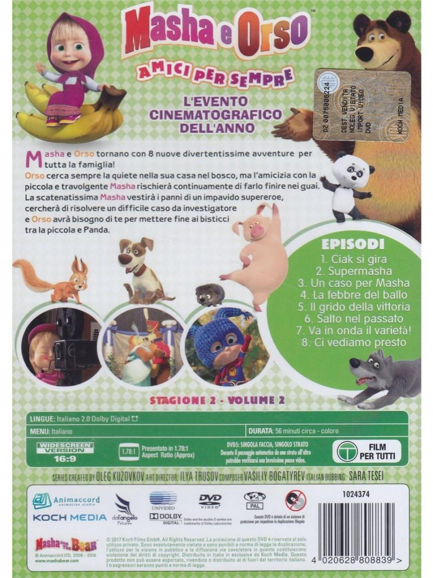 Masha e o dvd do urso - temporada 02 # 02 - Video Delta