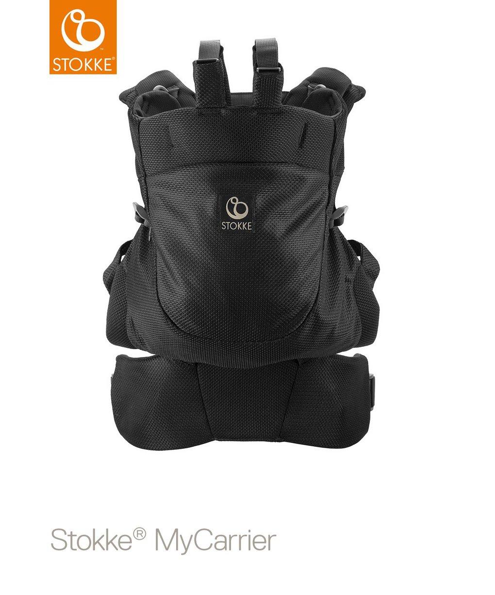 Suporte frontal e traseiro stokke® mycarrier ™ - preto - Stokke