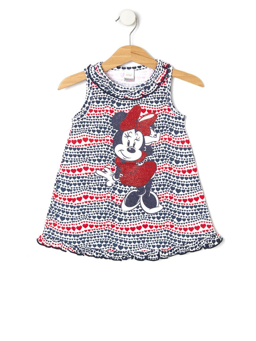 Vestido de jersey com estampa minnie mouse - Prénatal