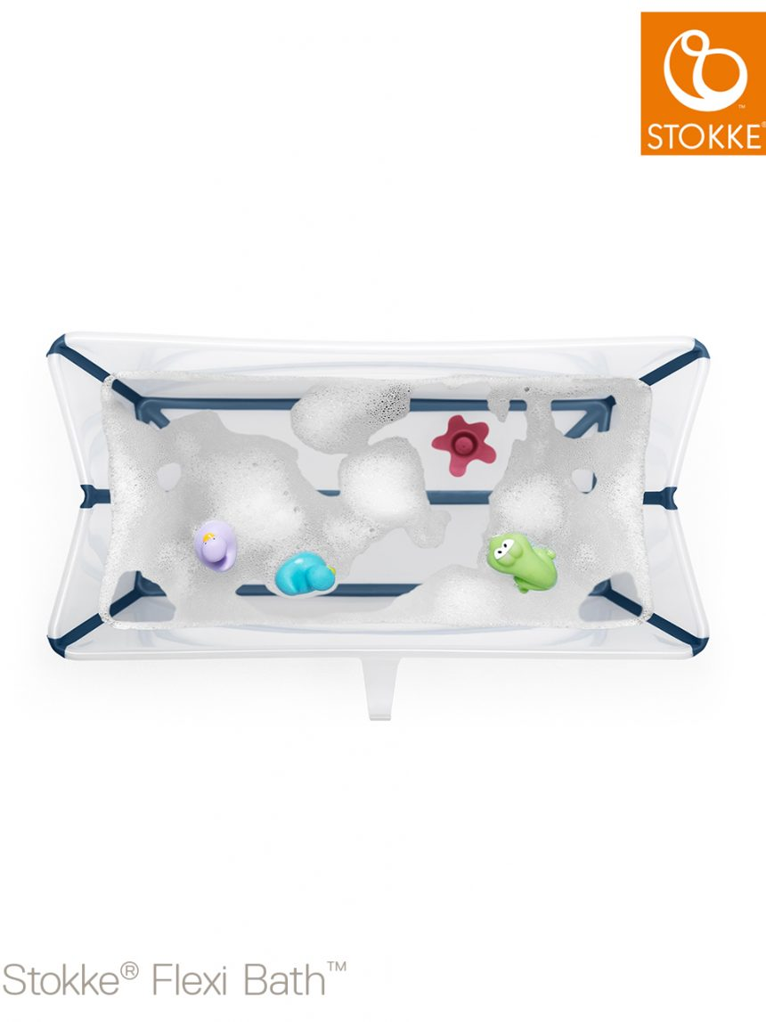 Stokke® flexi bath® - azul transparente - Stokke