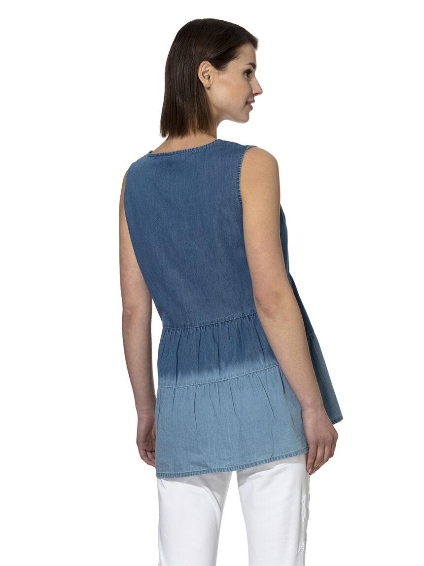Blusa chambray - Prénatal