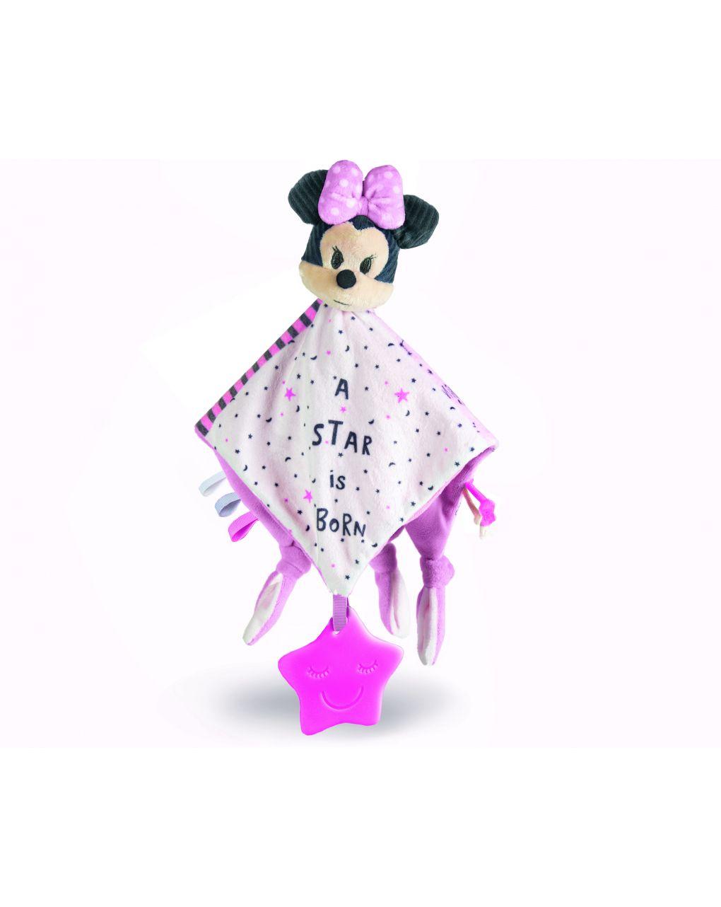 Disney baby - baby minnie cobertor macio - Clementoni