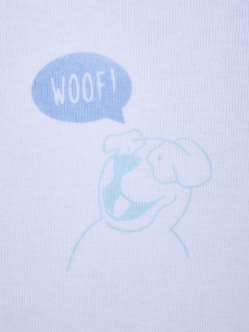 "Pacote 2 corpo bimbo ""woof"" - Prénatal"