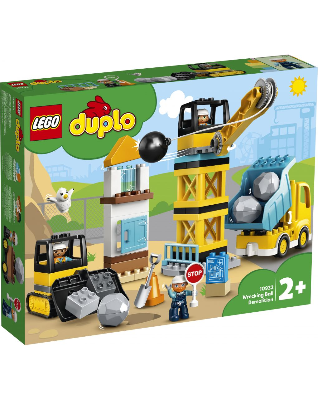 Duplo - local de demolição - 10932 - LEGO Duplo