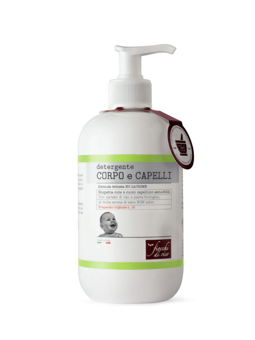 Produto de limpeza corporal e capilar - 400 ml - Fiocchi di Riso