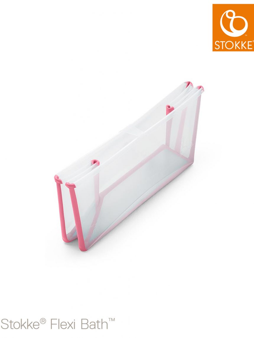 Stokke® flexi bath® - rosa transparente - Stokke
