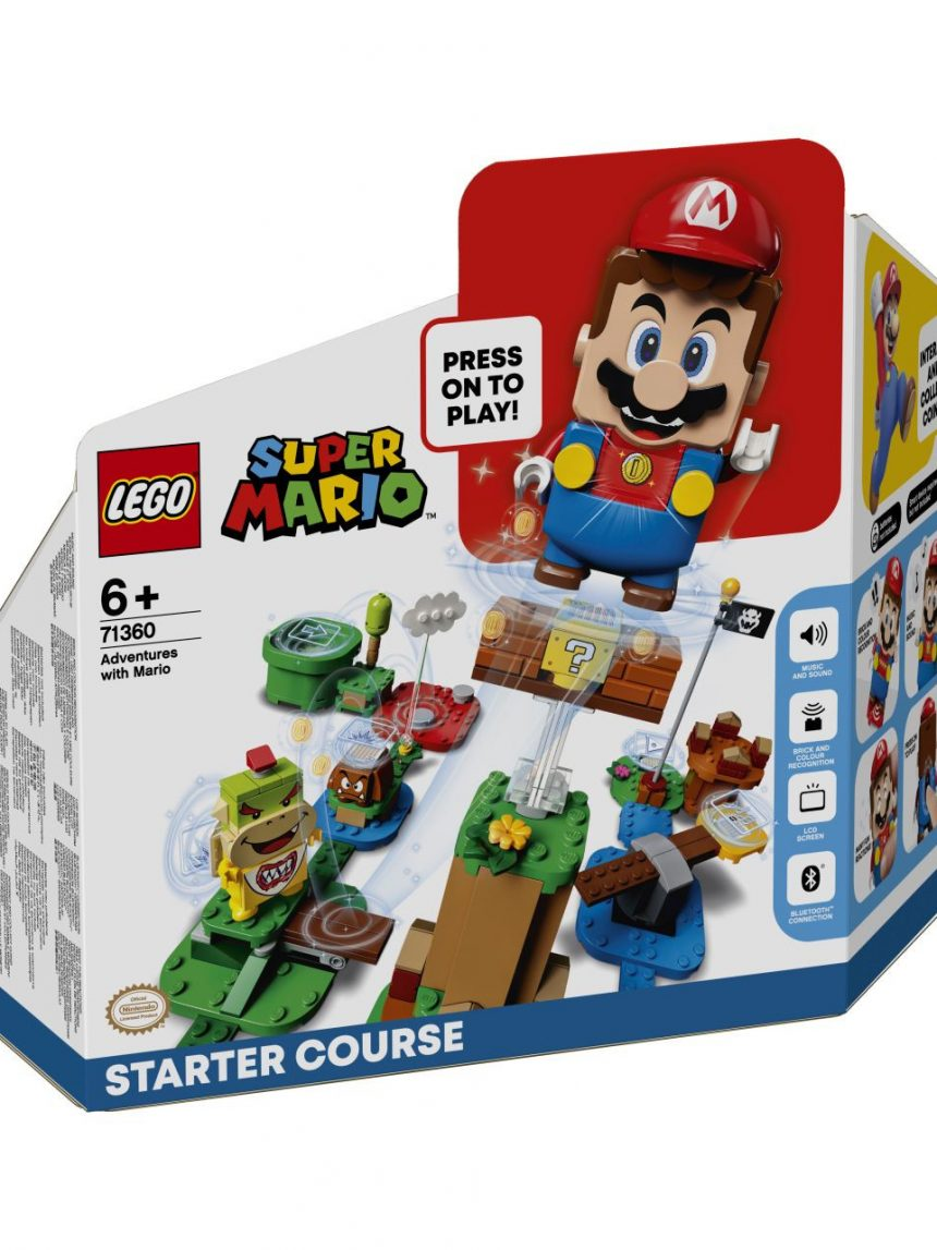 Lego super mario - aventuras de mario - pacote inicial - 71360 - LEGO