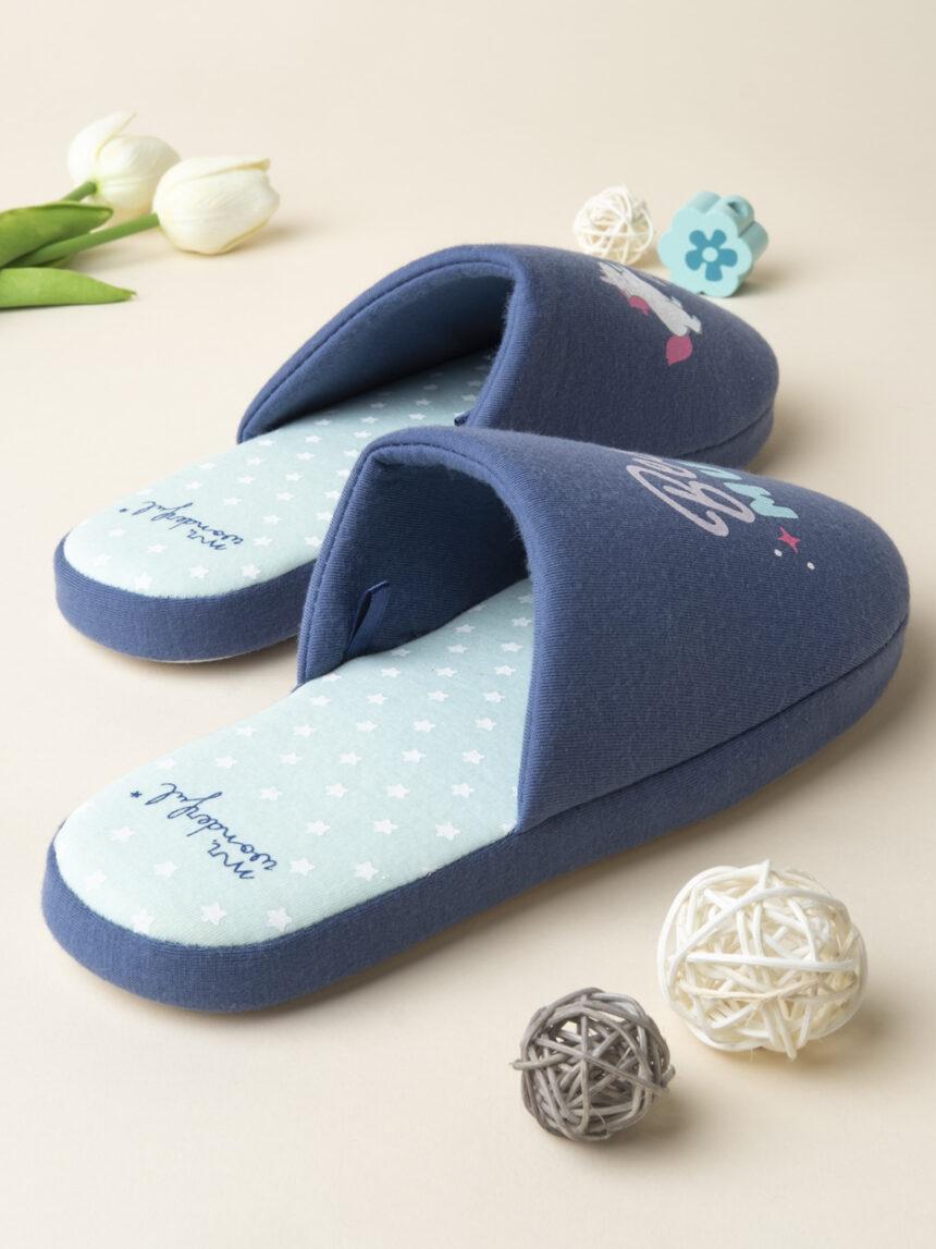 """Pantofole """"a melhor mãe do mundo"""" - mr. maravilhoso - Prénatal"""
