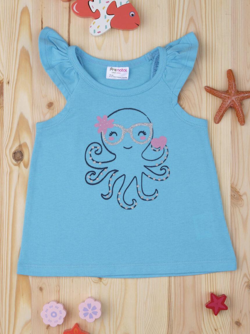"Camiseta feminina ""octopus"" - Prénatal"