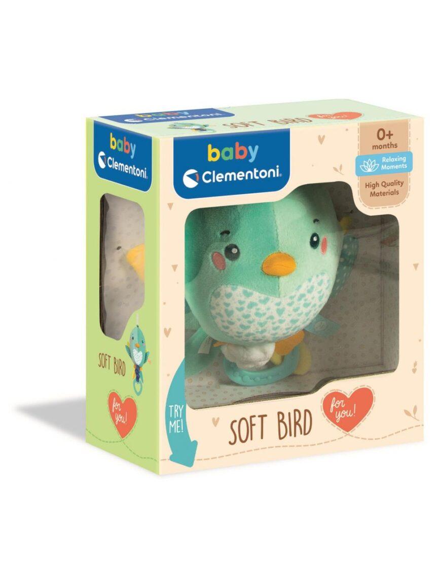 Clementoni bebê - pássaro macio - Clementoni