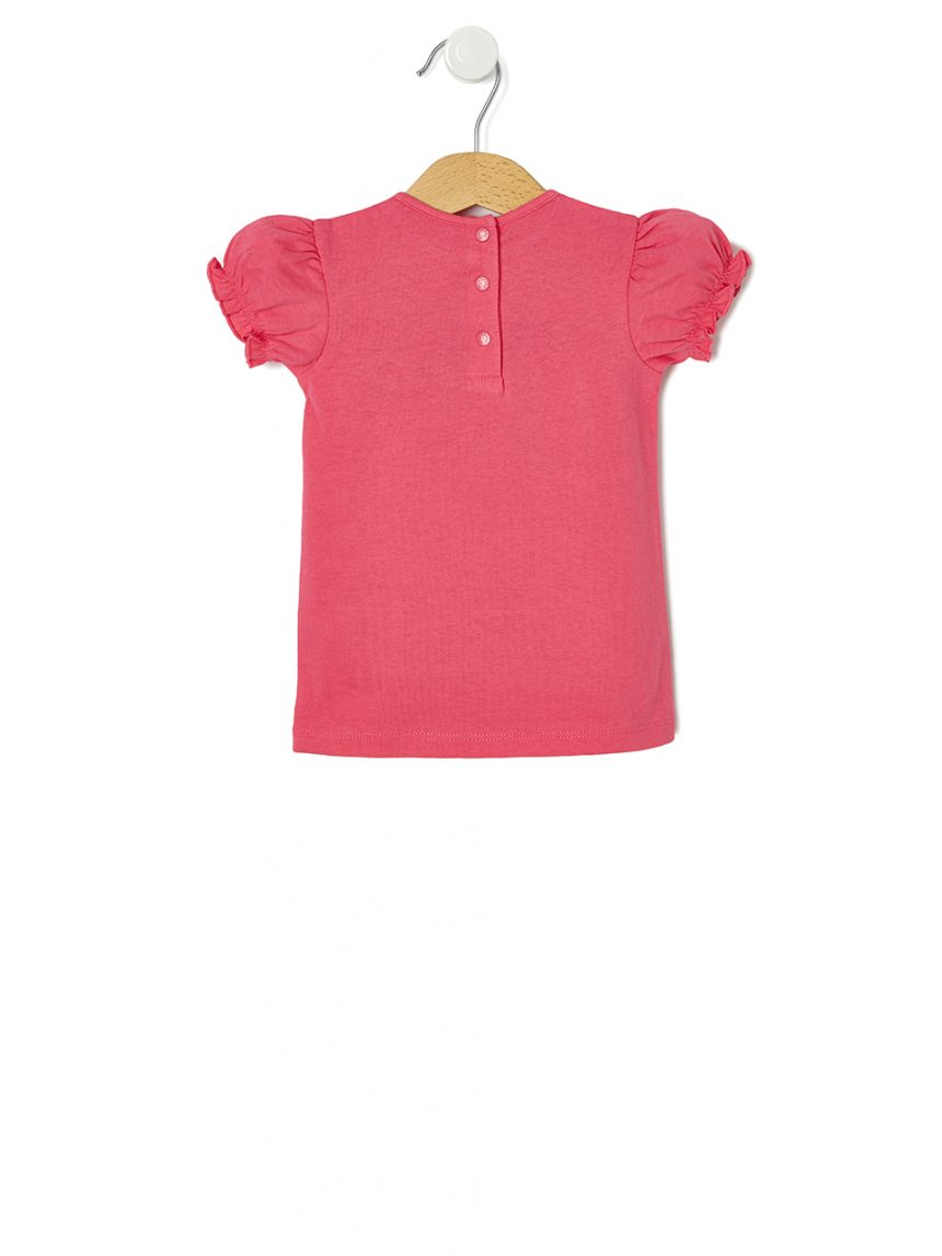 Camiseta de meia manga com estampa morango - Prénatal