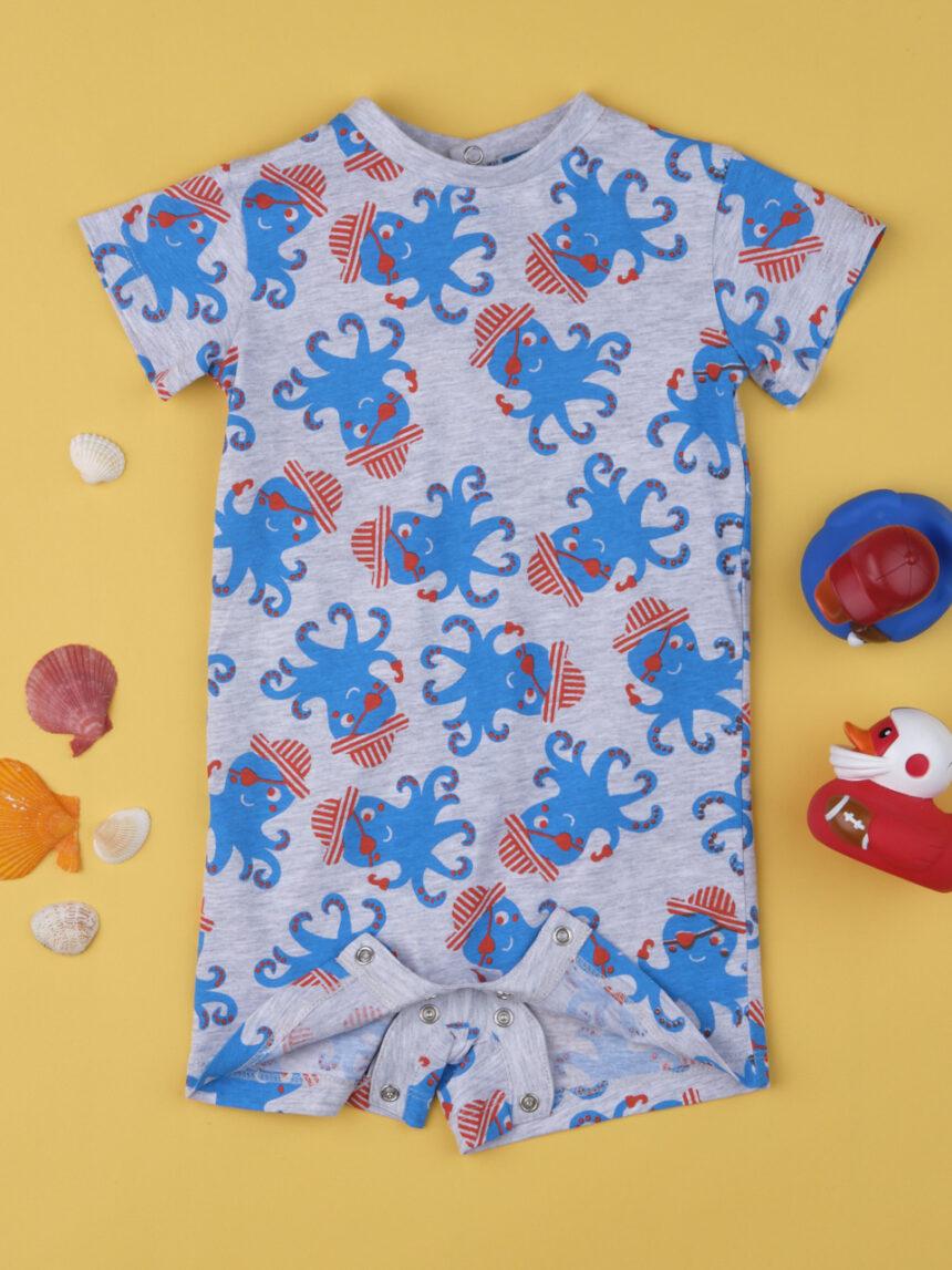 "Pijama de bebê ""pirata polvo"" - Prénatal"