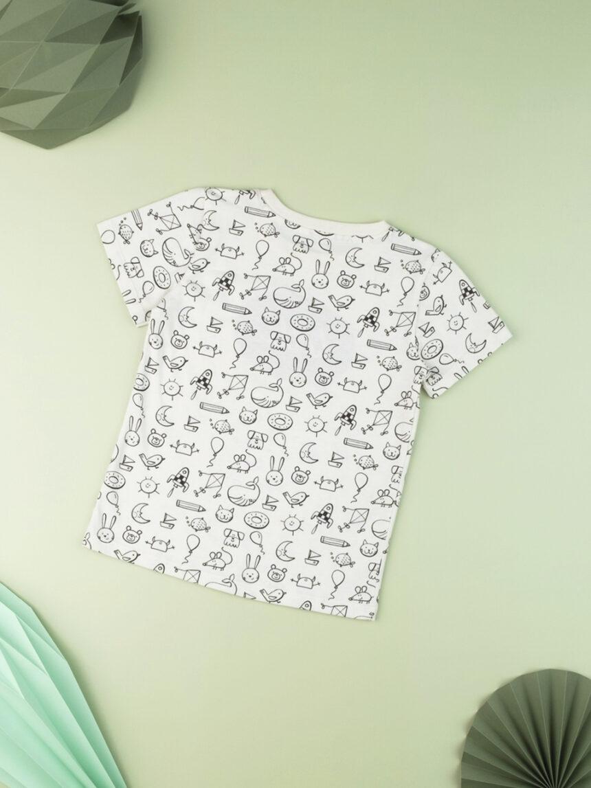 "Camiseta garoto garoto ""olá"" - Prénatal"