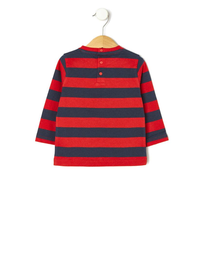 Suéter listrado básico - Prénatal