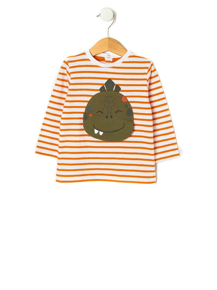 Camiseta com patch animado - Prénatal