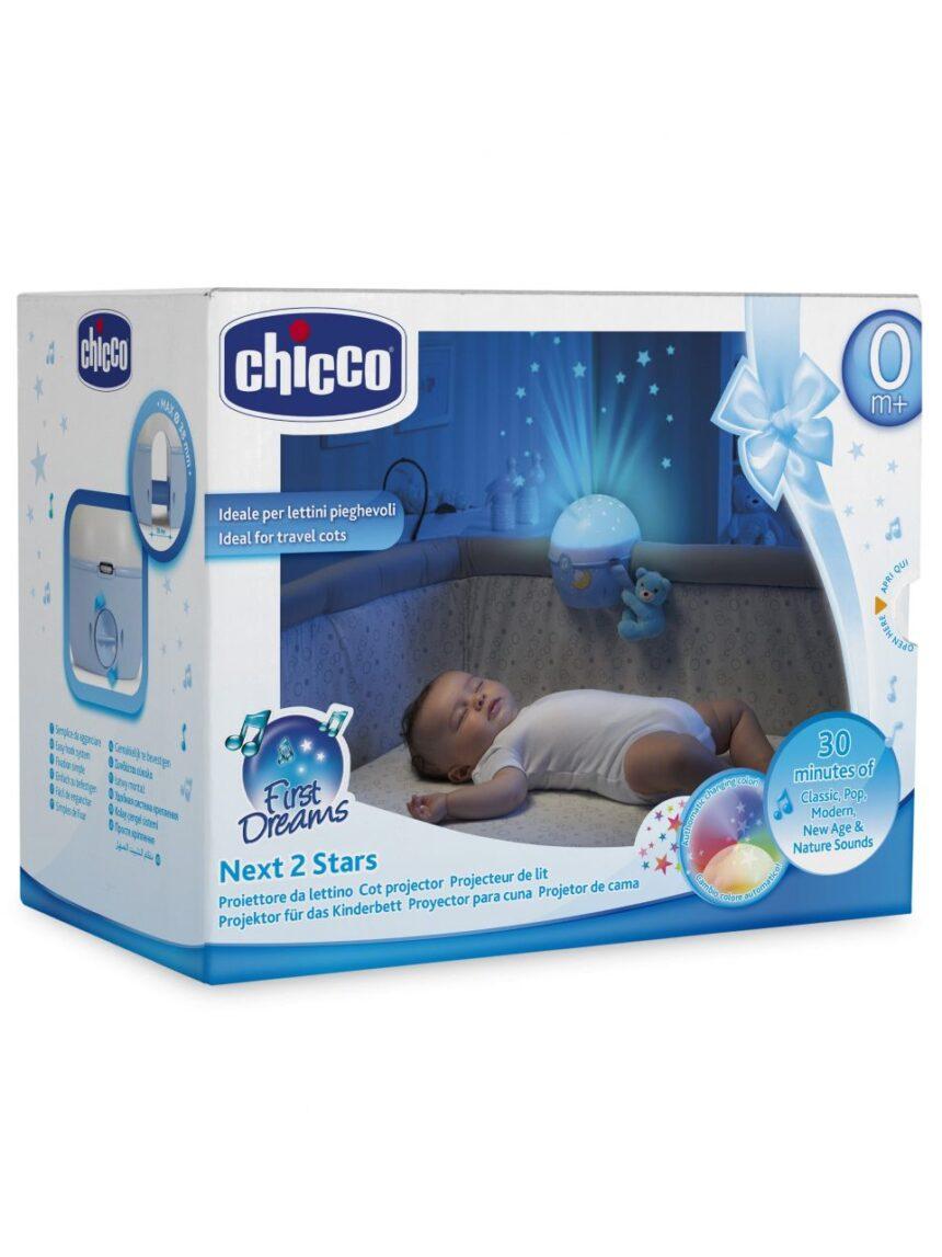 Chicco - painel projetor nex2stars azul - Chicco