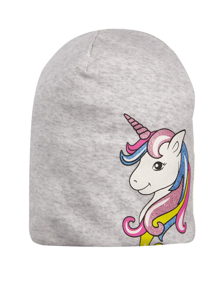 Chapéu de jersey com estampa unicórnio - Prénatal