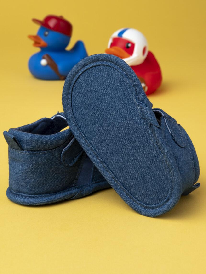 """Sandália masculina """"jeans azul"""" - Prénatal"""