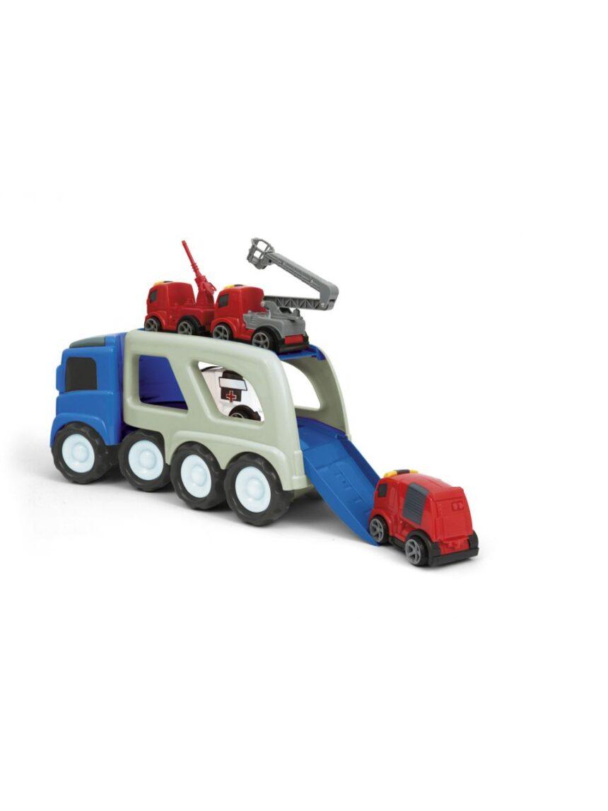 Sorriso de bebê - super caminhão transportador - Baby Smile
