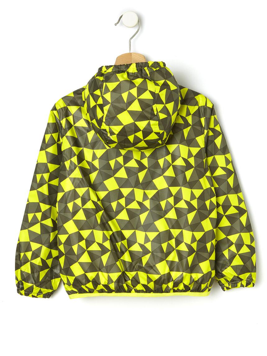 Blusão com estampa de menino feito de plástico reciclado - Prénatal