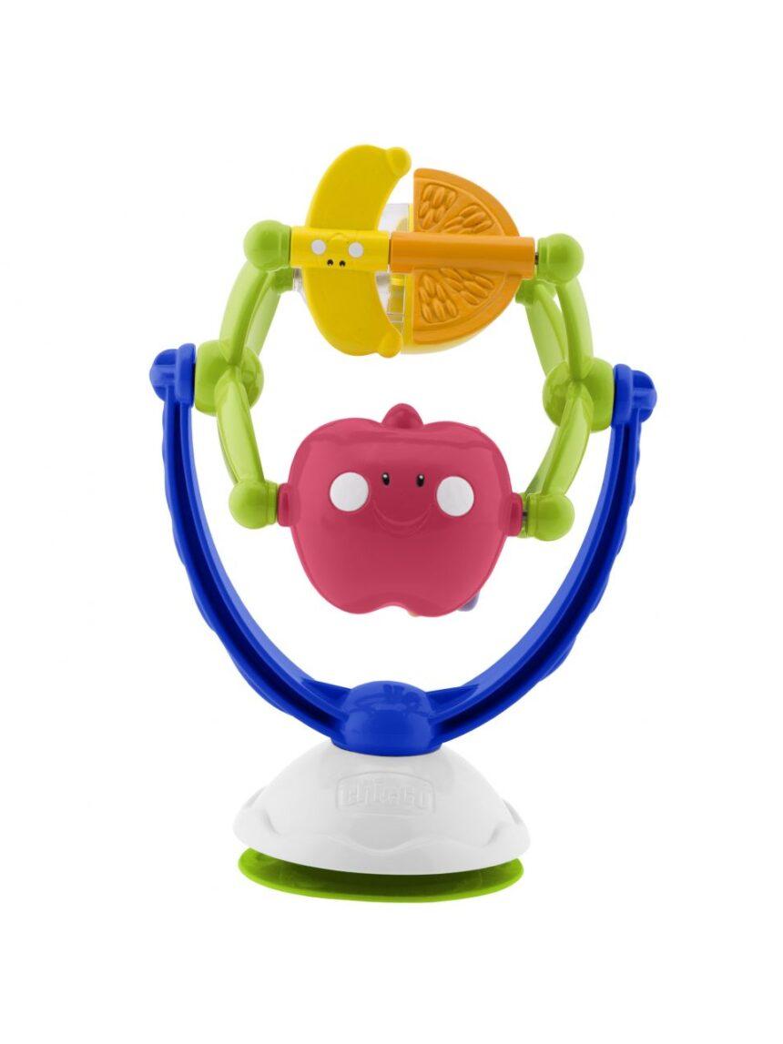 Chicco - jogo musical de frutas para cadeira alta - Chicco