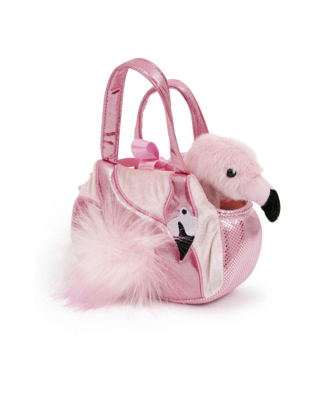 Pelúcia ami - brinquedo macio em bolsa 20cm - Ami Plush