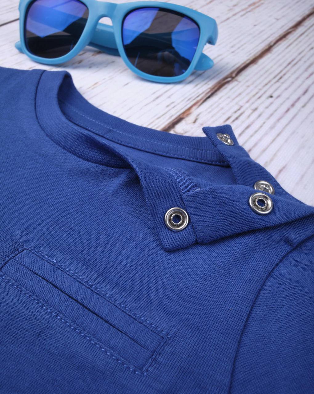 Camiseta menino azul - Prénatal