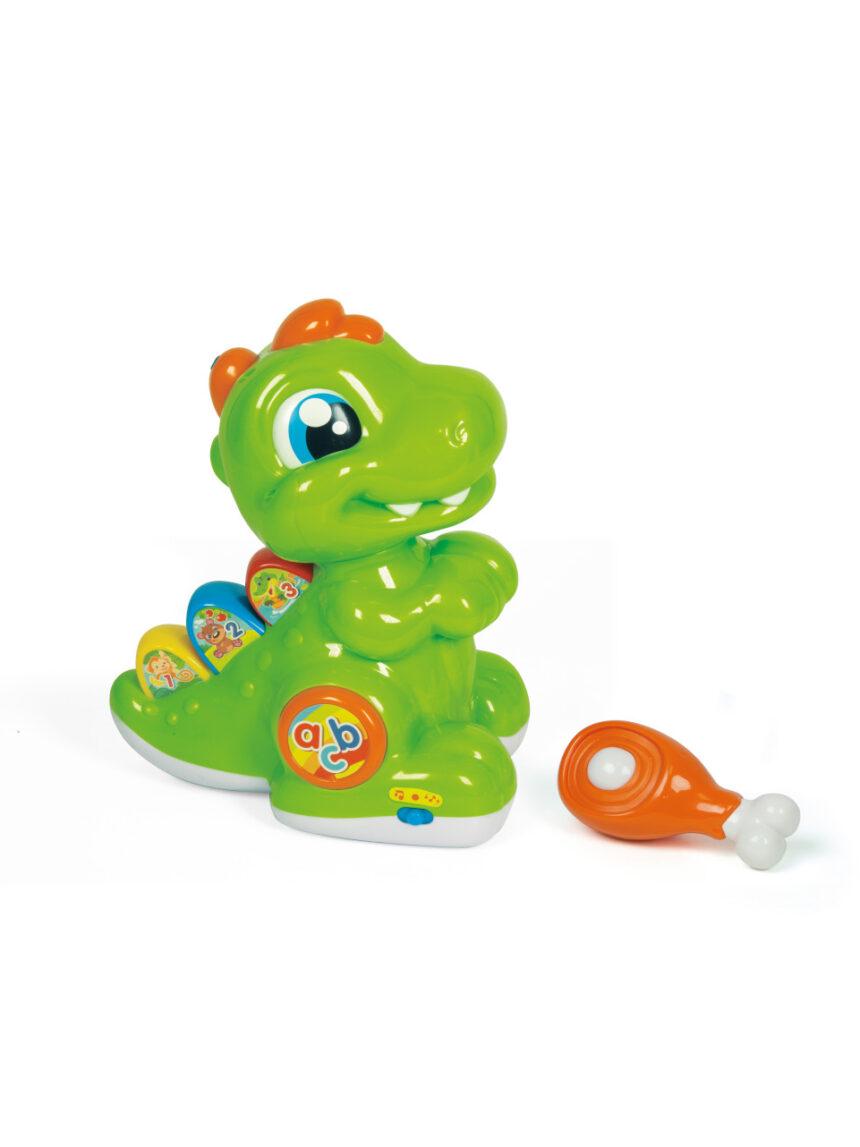 Clementoni de bebê - dente fofo de dinossauro - Clementoni