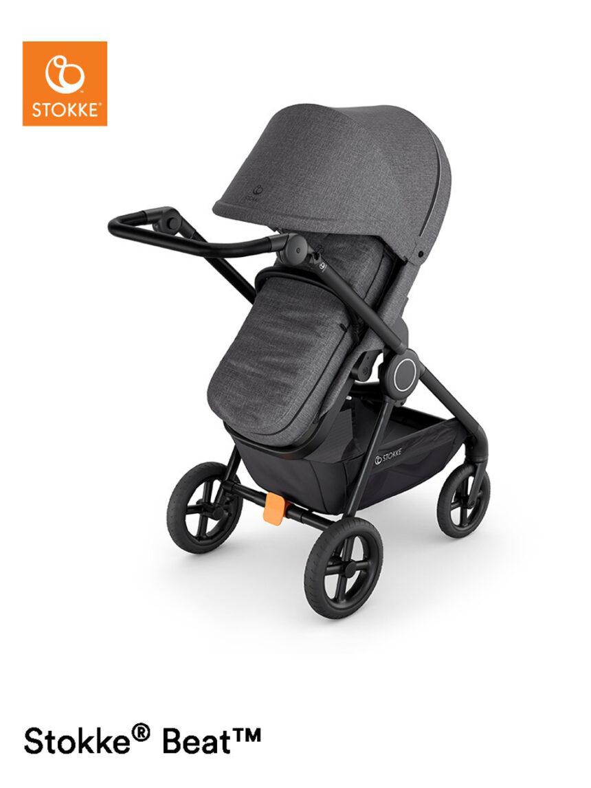 Softbag para carrinho de criança stokke® black melange - Stokke