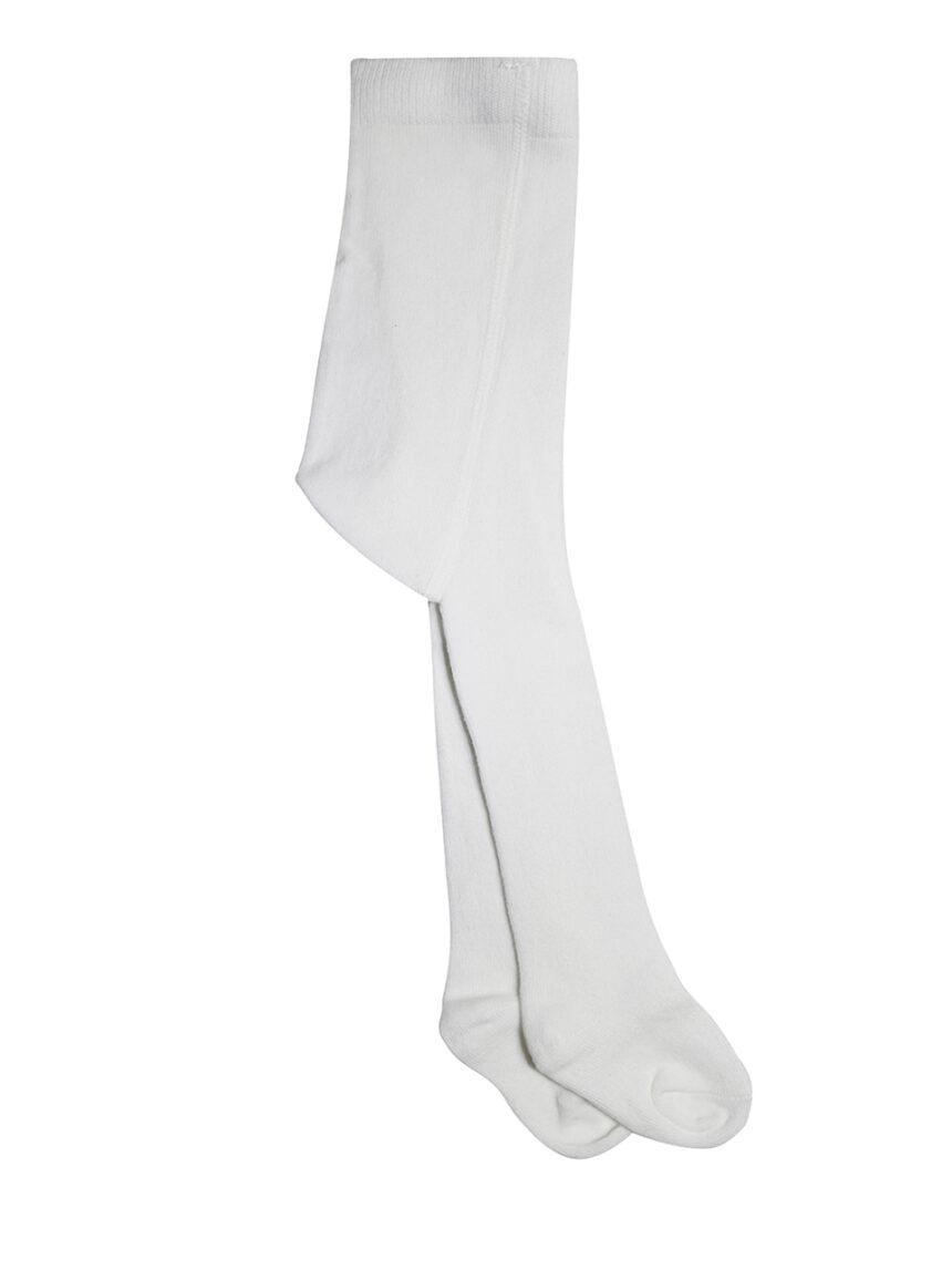 Collants de algodão branco - Prénatal
