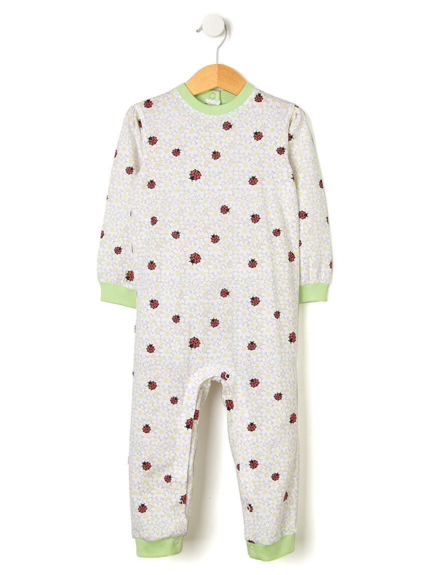 Pijama estampado com joaninhas - Prénatal