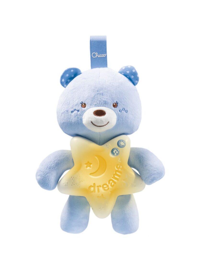 Chicco - painel azul claro urso de boa noite - Chicco