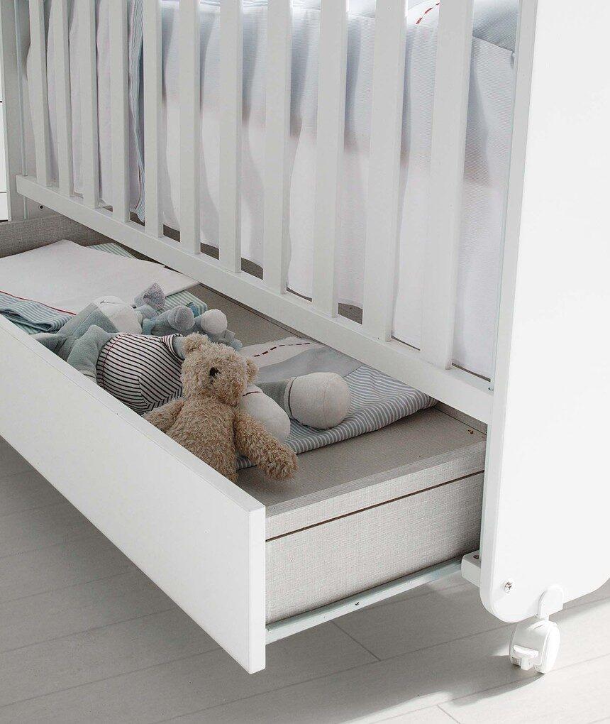 Gaveta de cama de urso doce micuna - Micuna