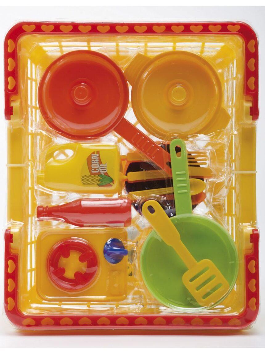 Casa divertida - cesta de primeiros pratos - FunnyHome