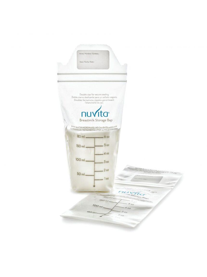 Sacos de leite materno 150 ml - Nuvita