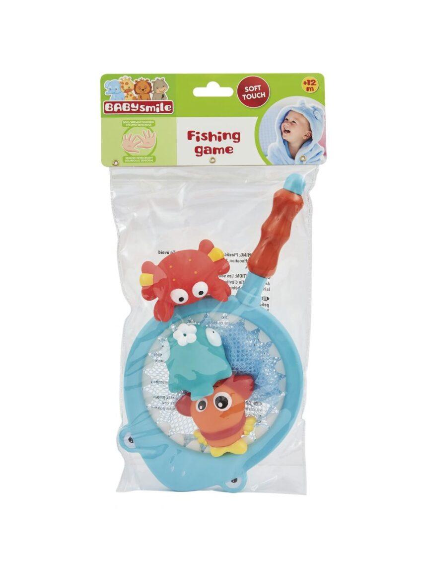 Sorriso de bebê - rede de pesca de peixe - Baby Smile