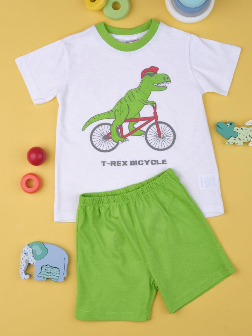"""Pacote de 2 pijamas de bebê """"dinossauros"""" - Prénatal"""