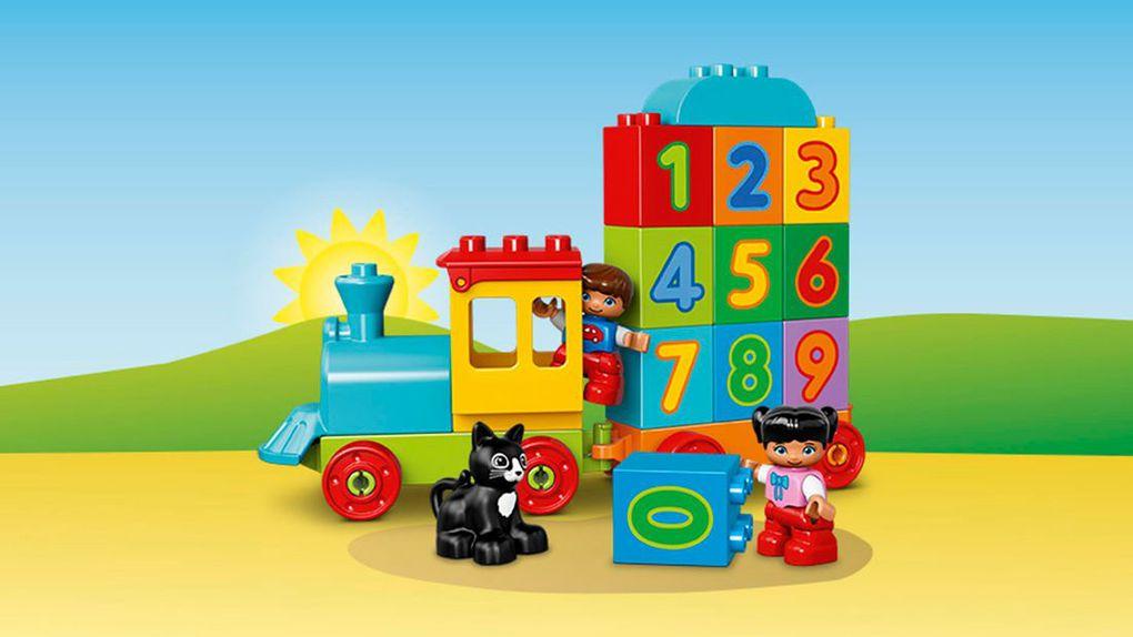 Duplo - o número trem - 10847 - LEGO Duplo