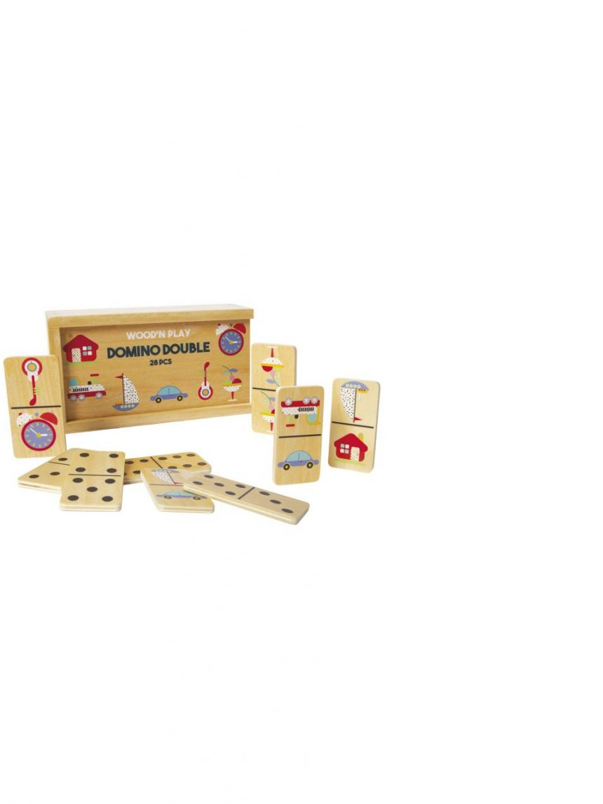 Wood'n play - dominó dupla face - Wood'N'Play