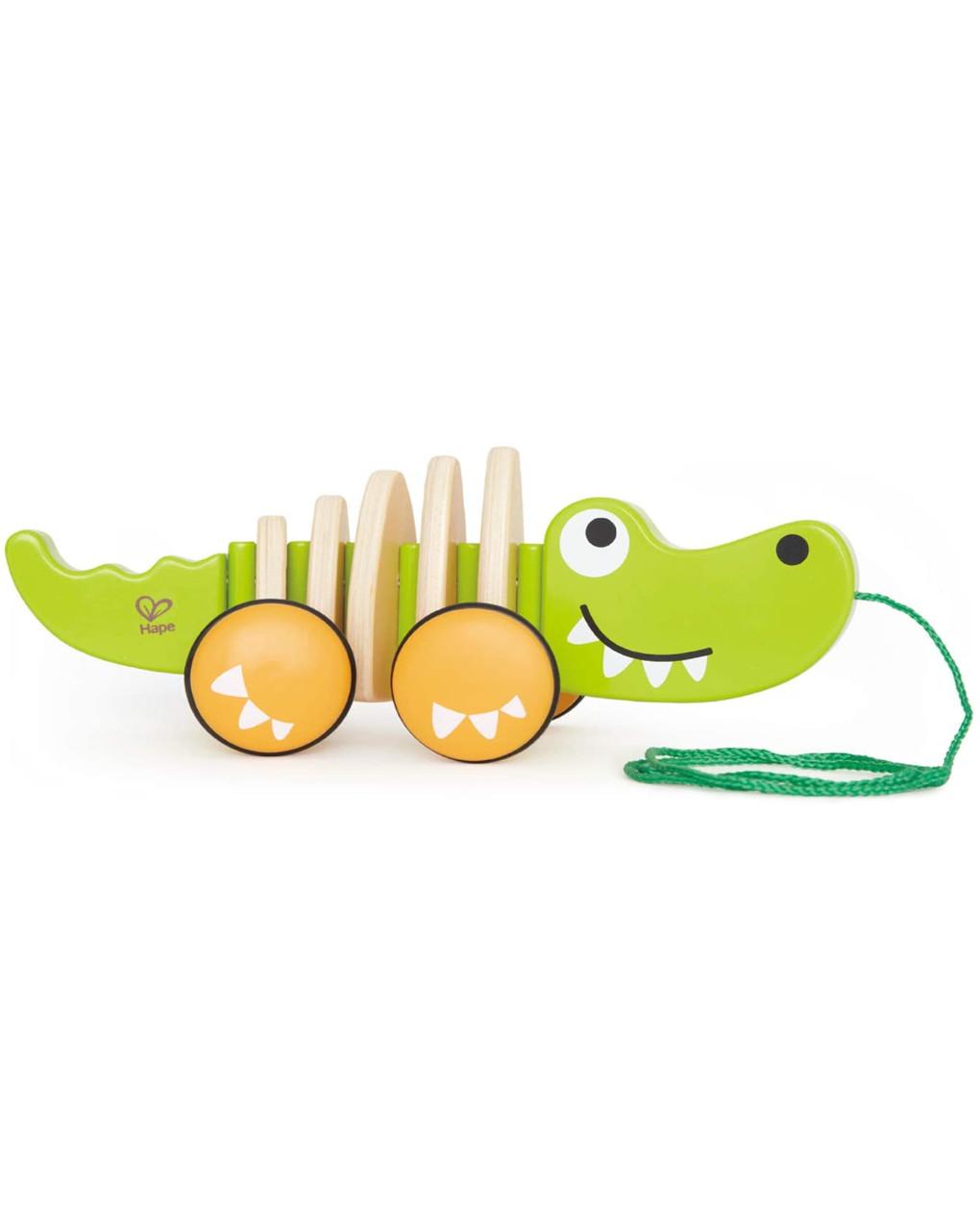 Hape - crocodilo para puxar - Hape