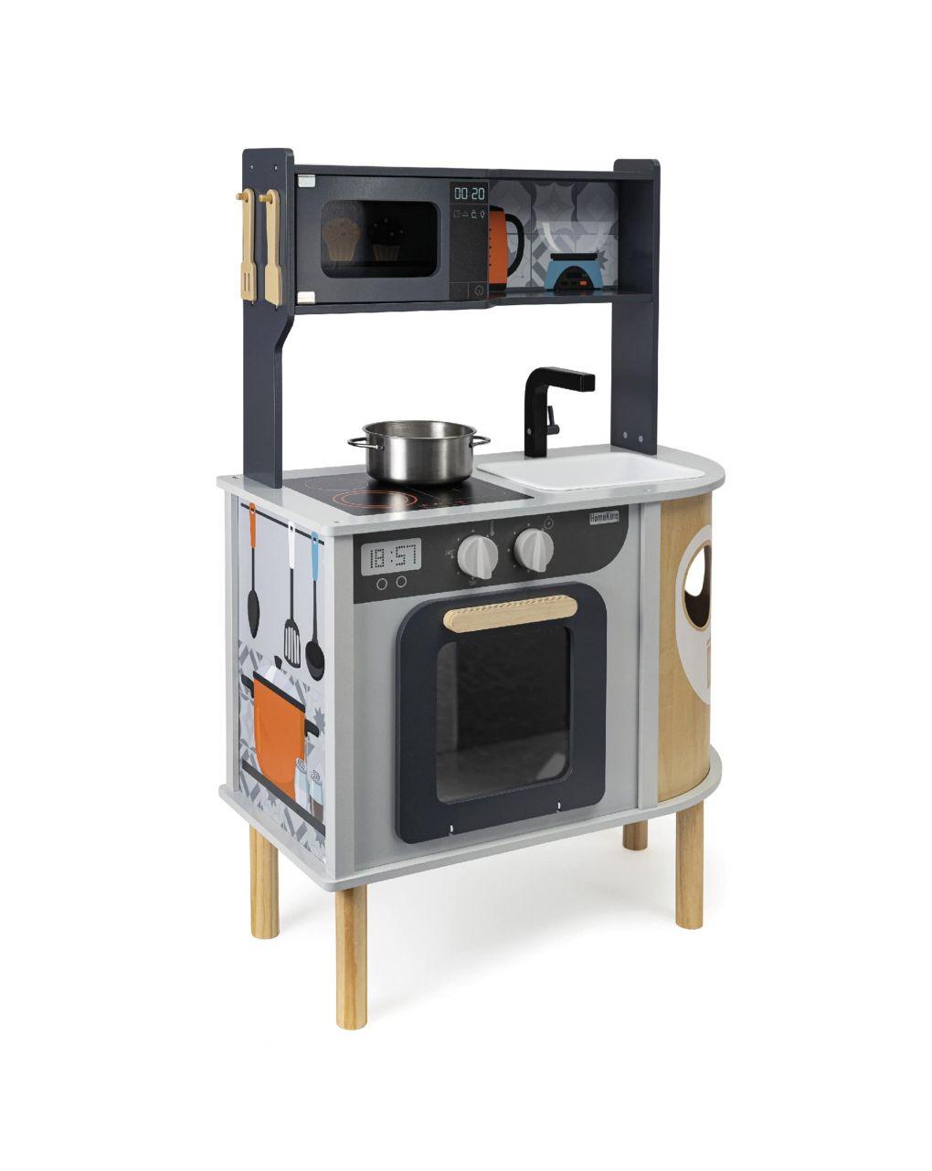 Wood'n play - cucina in legno double side - Wood'N'Play