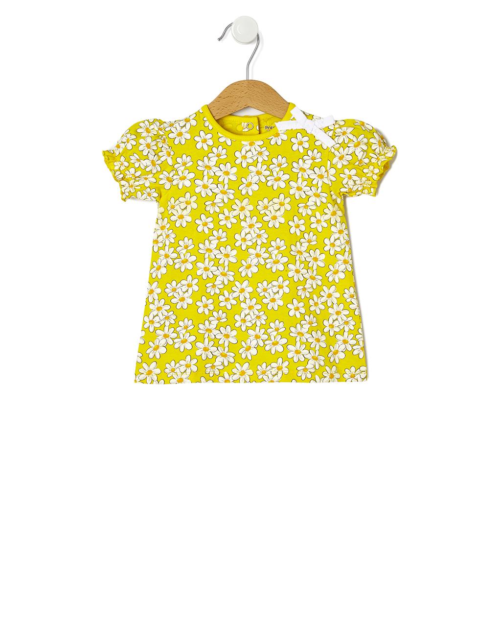 T-shirt com estampado floral allover - Prénatal