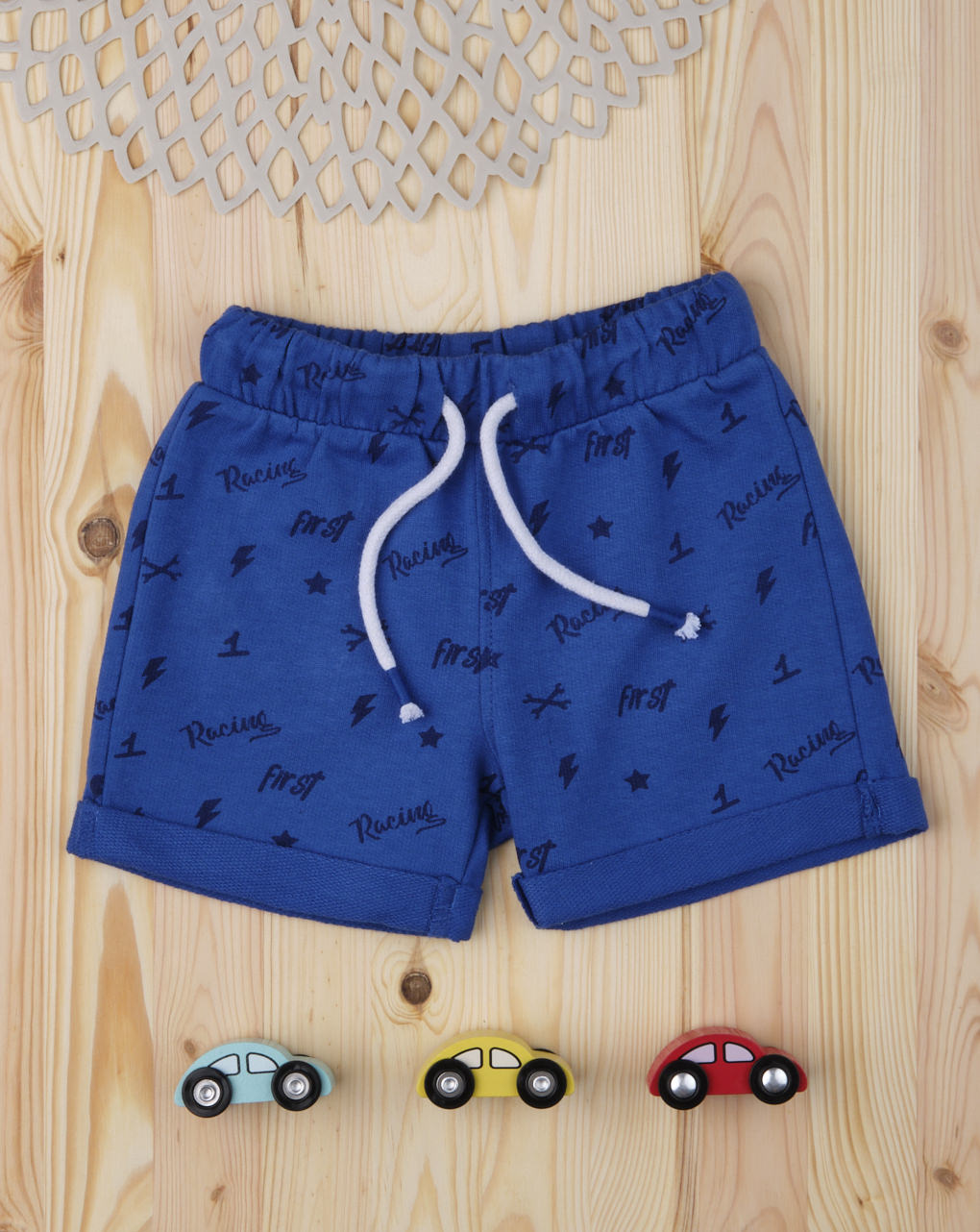 "Shorts bimbo ""blu racing"" - Prénatal"