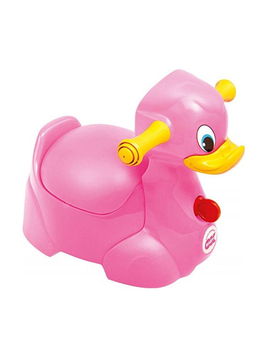 Potty quack rosa - Okbaby