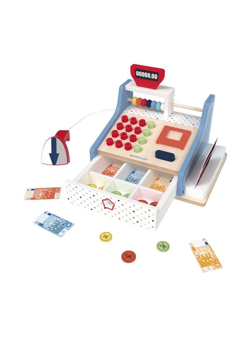 Wood'n play - caixa registradora - Wood'N'Play