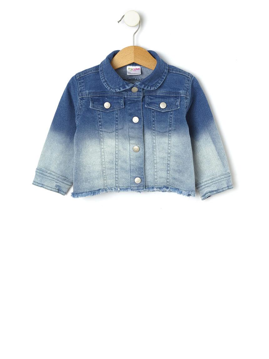 Jaqueta jeans lavada - Prénatal